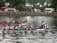 CAUK participates in Dragon Boat Racing